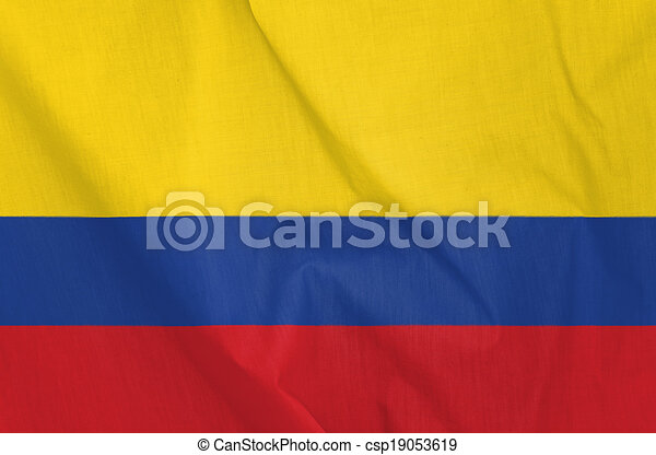 Flag of Colombia - csp19053619