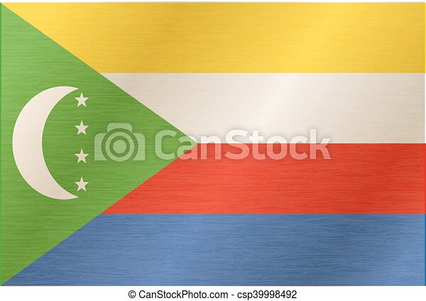 Flag of Comoros - csp39998492