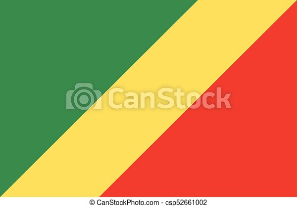 Flag of Congo - csp52661002