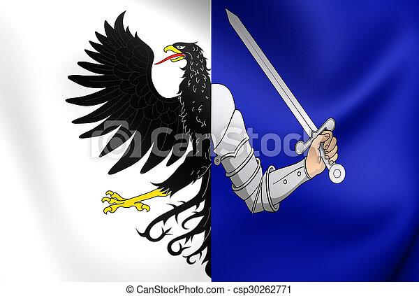 Flag of Connacht Province, Ireland. - csp30262771