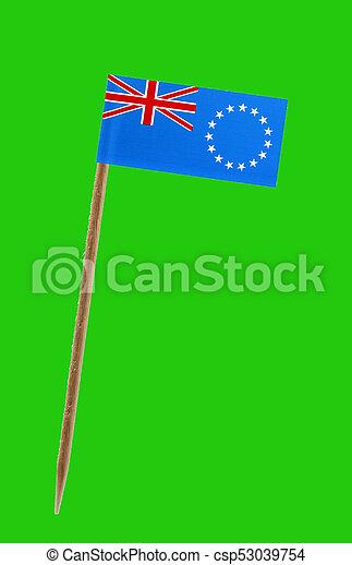 Flag of Cook Islands - csp53039754