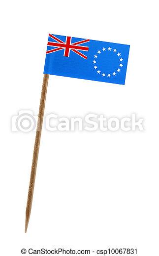 Flag of Cook Islands - csp10067831