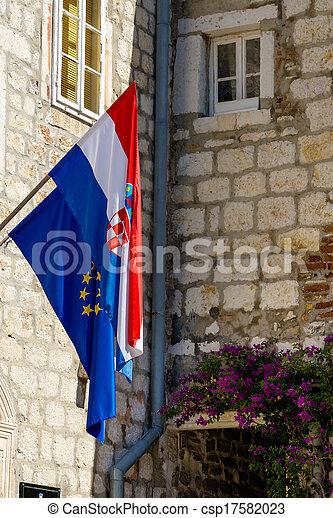 Flag of Croatia - csp17582023