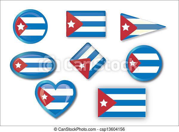 flag of Cuba - csp13604156