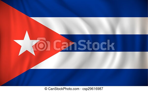 Flag of Cuba - csp29616987
