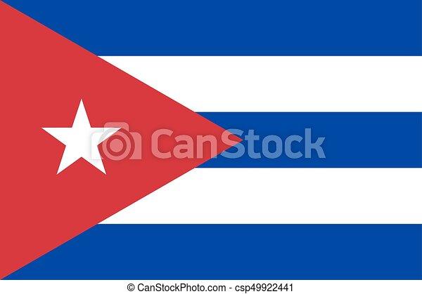 Flag of Cuba - csp49922441