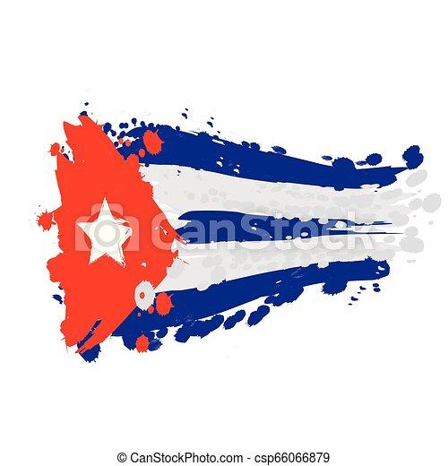 flag of Cuba - csp66066879
