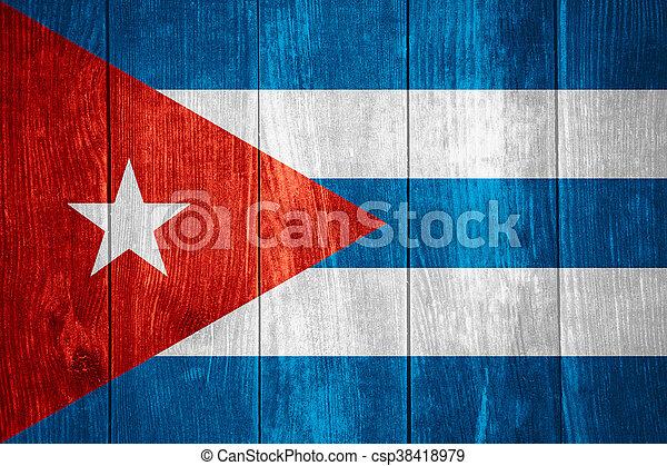 flag of Cuba - csp38418979