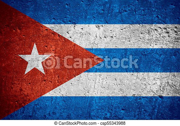 flag of Cuba - csp55343988