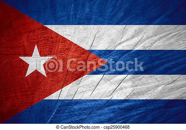 flag of Cuba - csp25900468