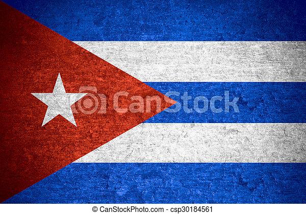 flag of Cuba - csp30184561