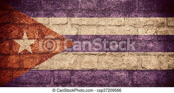 flag of Cuba - csp37209566