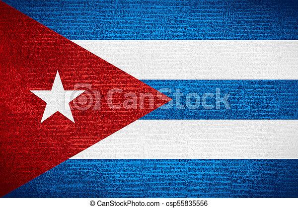 flag of Cuba - csp55835556