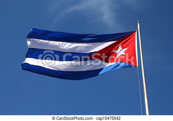 Flag of Cuba - csp15475542