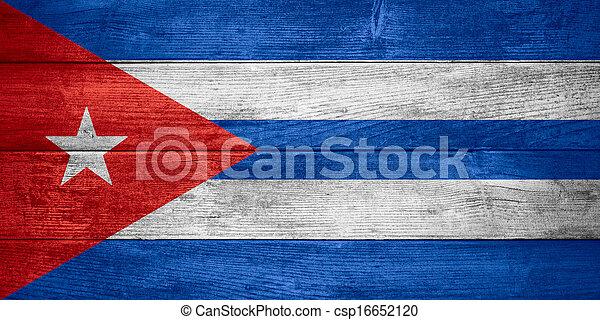 flag of Cuba - csp16652120