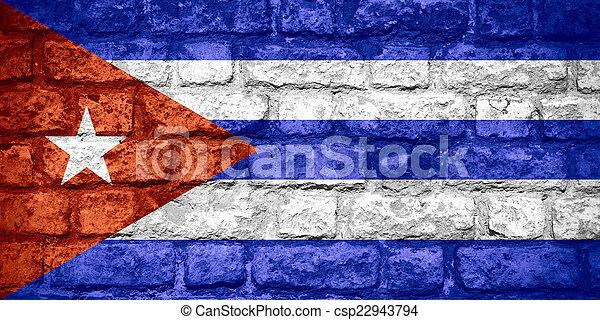 flag of Cuba - csp22943794