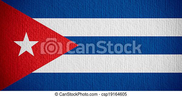 flag of Cuba - csp19164605