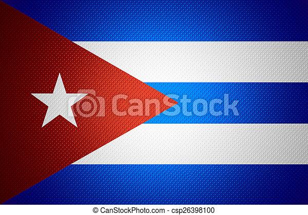 flag of Cuba - csp26398100