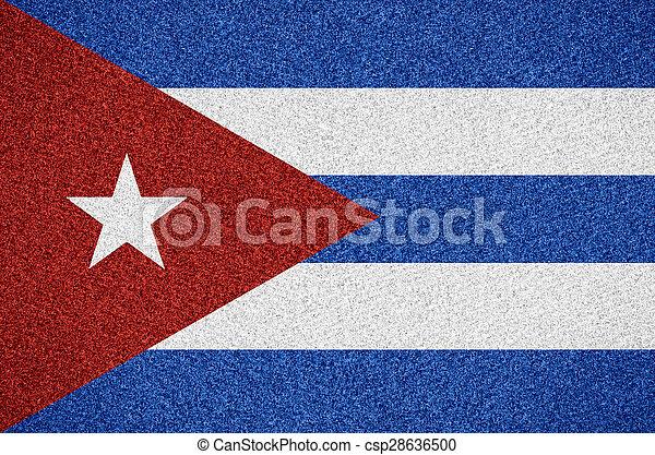 flag of Cuba - csp28636500
