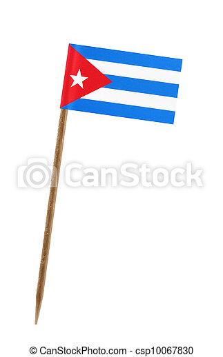 Flag of Cuba - csp10067830