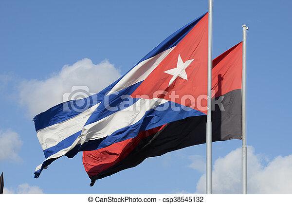 Flag of Cuba - csp38545132