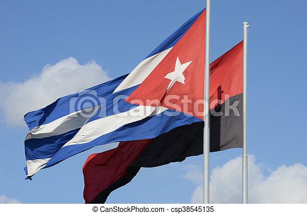 Flag of Cuba - csp38545135