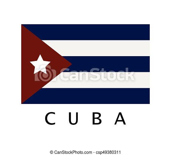 Flag of Cuba - csp49380311