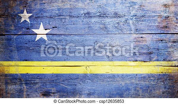 Flag of Curacao - csp12635853