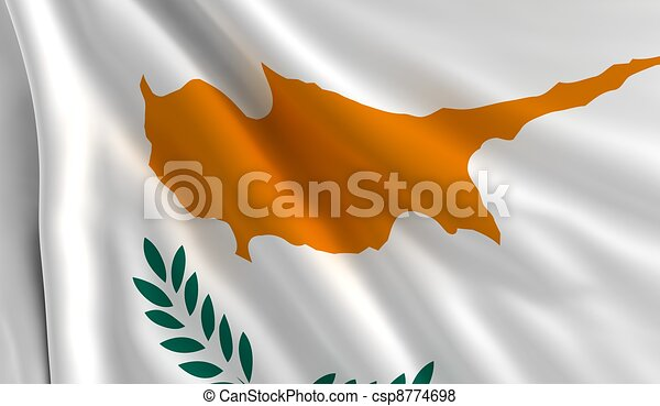 Flag of Cyprus - csp8774698