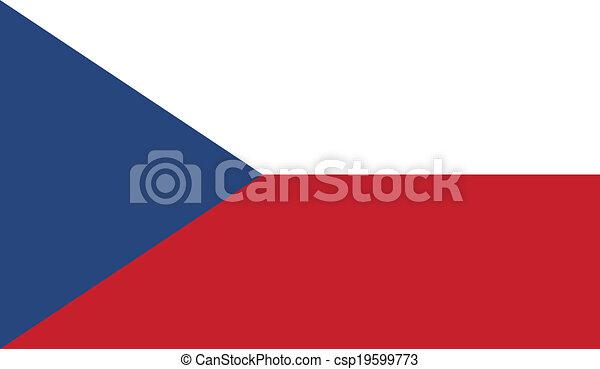 Flag of Czech Republic - csp19599773