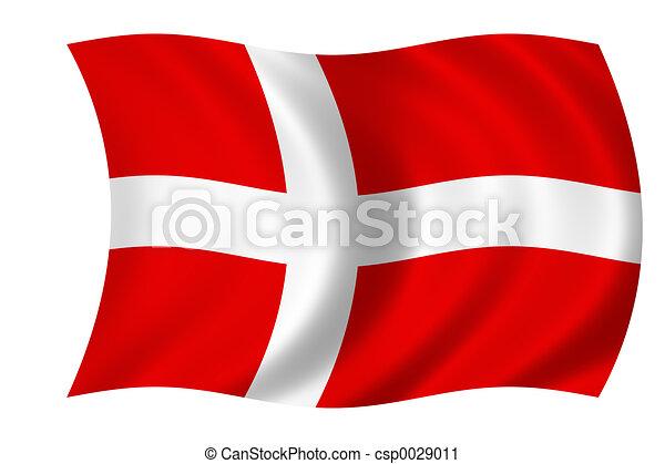 flag of denmark - csp0029011