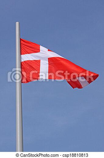 flag of Denmark - csp18810813
