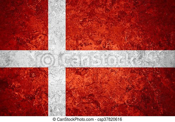 flag of Denmark - csp37820616