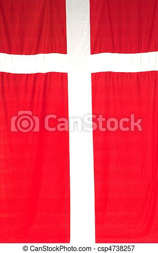 Flag of Denmark - csp4738257