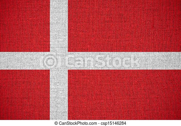 flag of Denmark - csp15146284