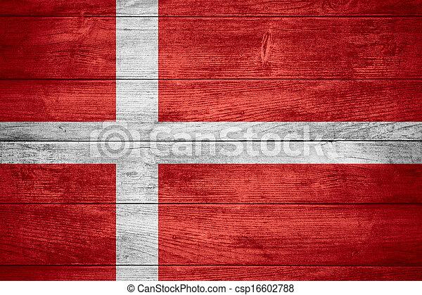 flag of Denmark - csp16602788
