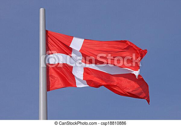 flag of Denmark - csp18810886
