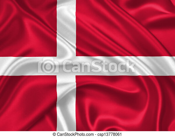Flag of Denmark - csp13778061