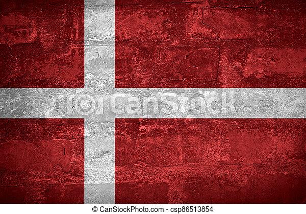 Flag of Denmark - csp86513854
