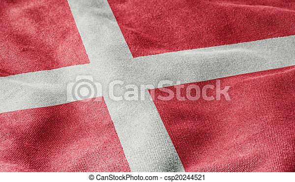 Flag of Denmark - csp20244521