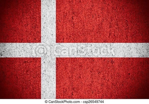 flag of Denmark - csp26549744