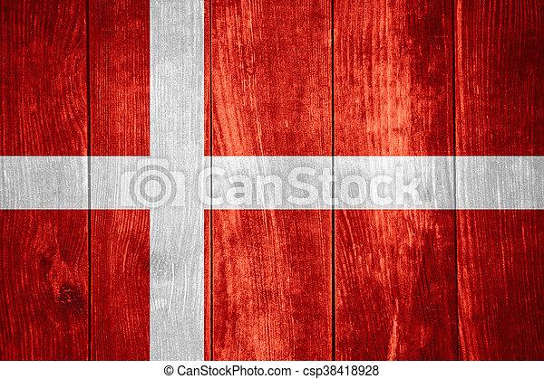 flag of Denmark - csp38418928