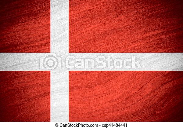 flag of Denmark - csp41484441