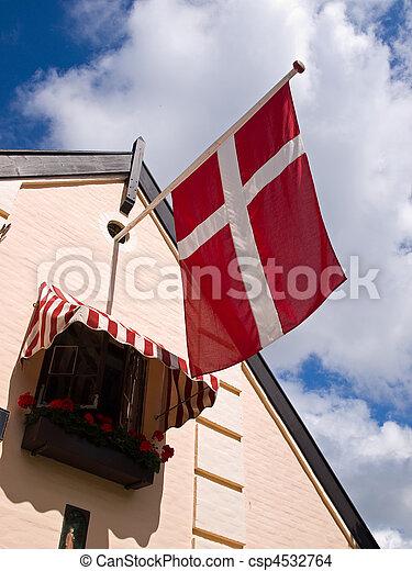 Flag of Denmark - csp4532764
