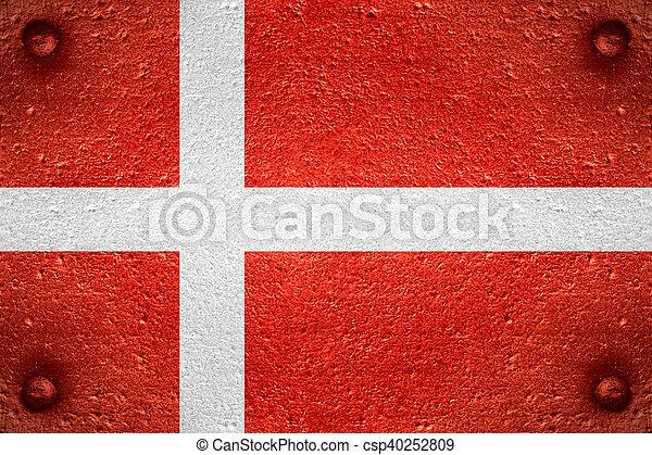 flag of Denmark - csp40252809