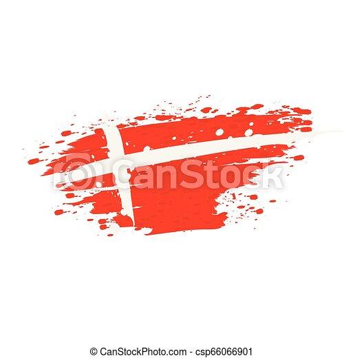 flag of Denmark - csp66066901