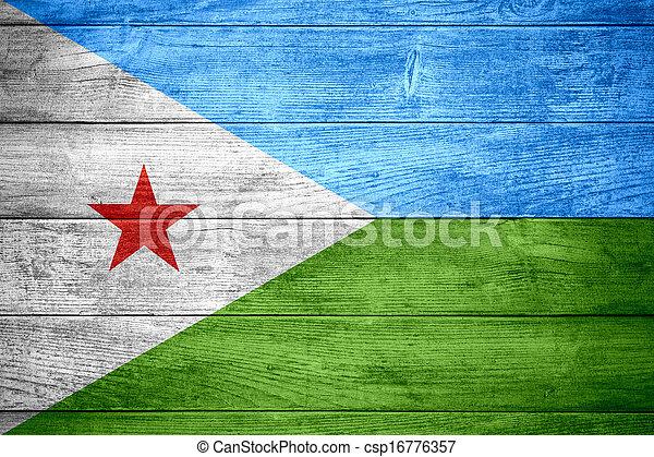 flag of Djibouti - csp16776357