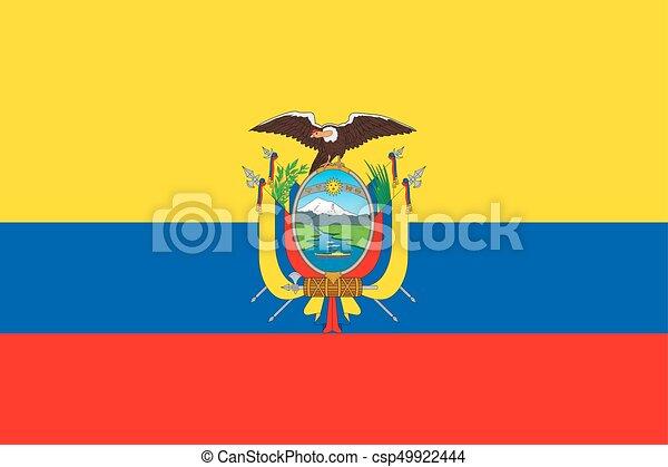 Flag of Ecuador - csp49922444
