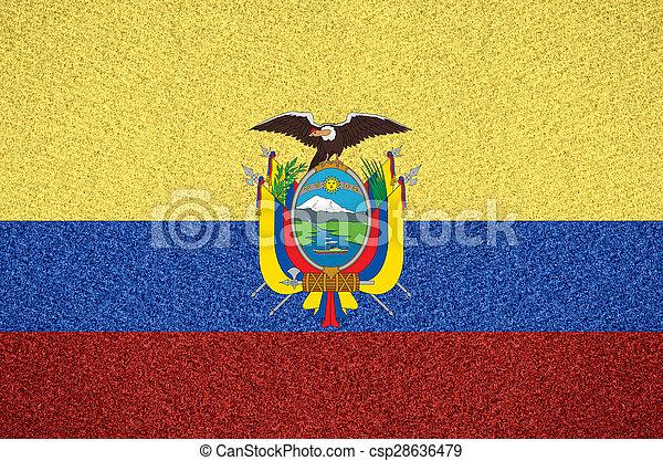 flag of Ecuador - csp28636479