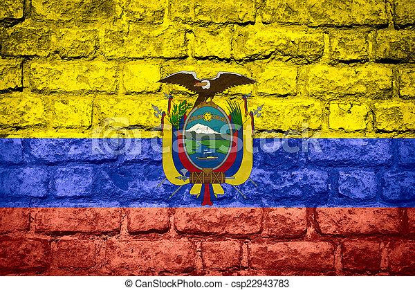 flag of Ecuador - csp22943783